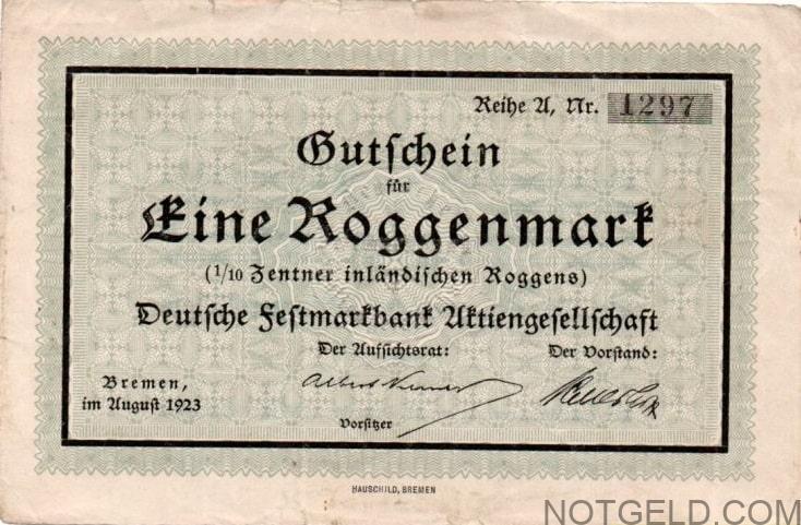 Bremen Roggenmark