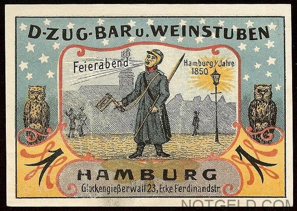 Scarce Hamburg piece