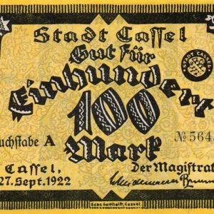 Notgeld issues (1922)