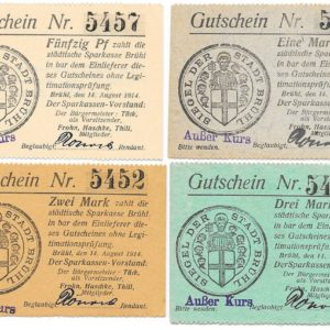 1914 notgeld issues